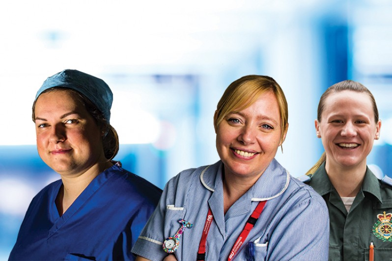 ODP, Midwifery and Paramedic Science students and alumni