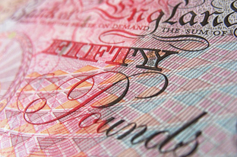 image of a fifty pound note