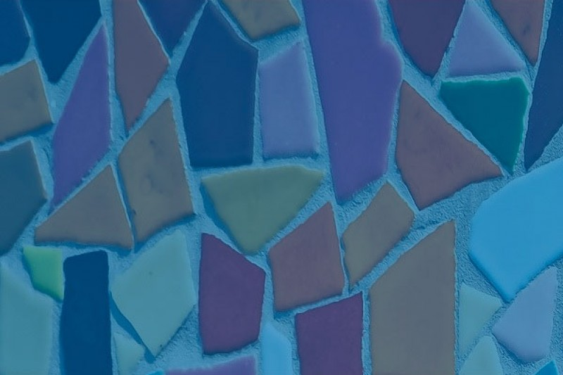A mosaic tile background