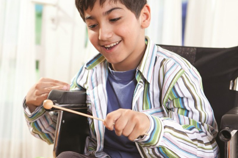 Making music more accessible for children with profound and multiple learning disabilities