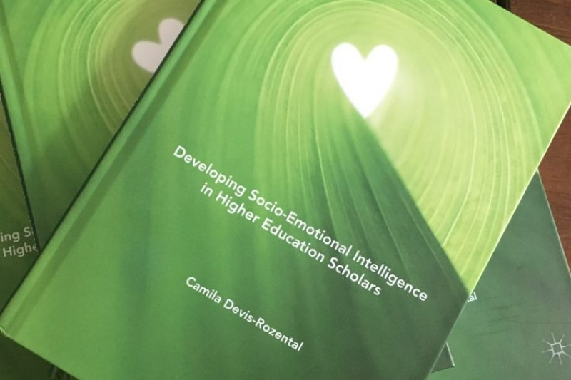 New book Developing Socio-emotional Intelligence in Higher Education Scholars just published by Palgrave Macmillan