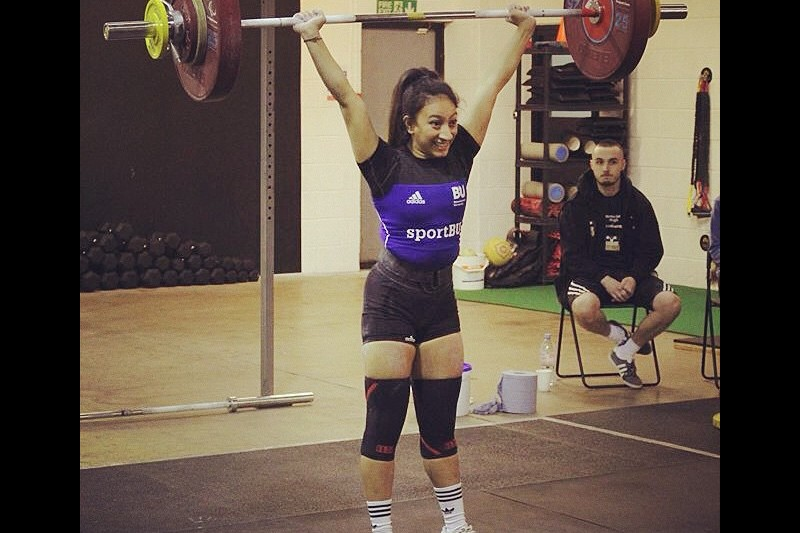 Noorin weightlifting record