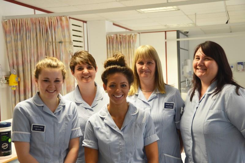 the nursing students