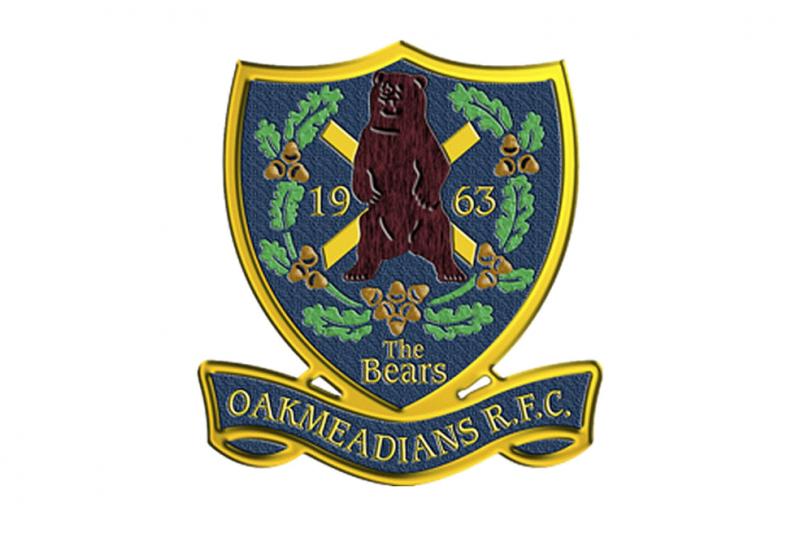 Oakmeadians RFC logo
