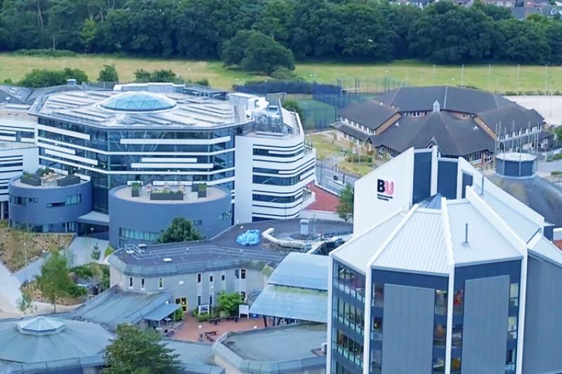 Aerial shot of Talbot Campus