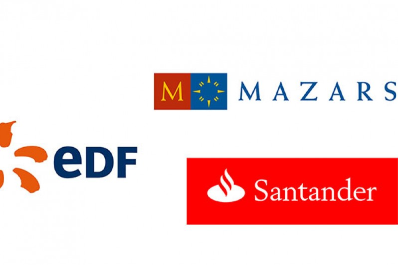 Logos of companies BU partners with