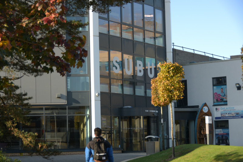 Outside the Student Centre and SportBU