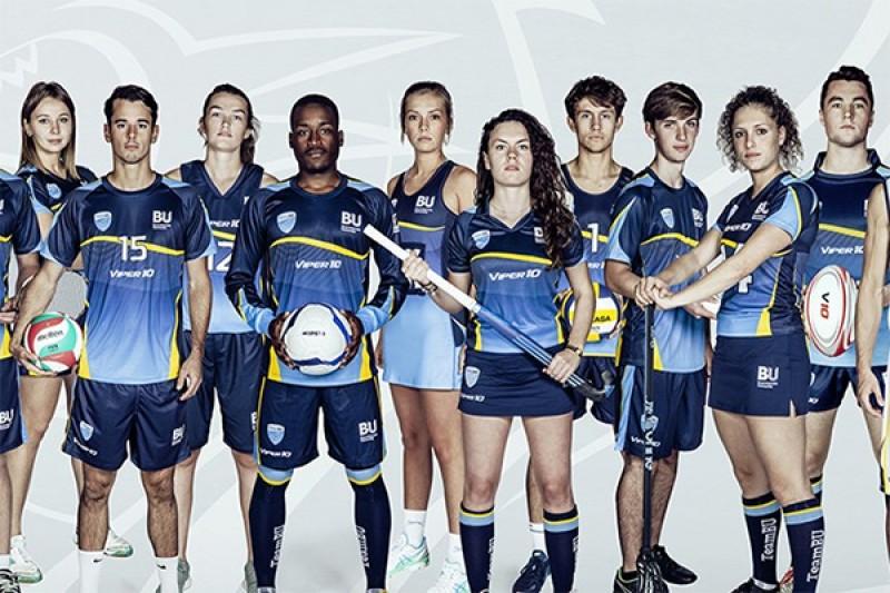 Image of people showcasing SportBU sports kits