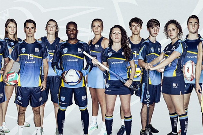 Image of people showcasing SportBU sports kits