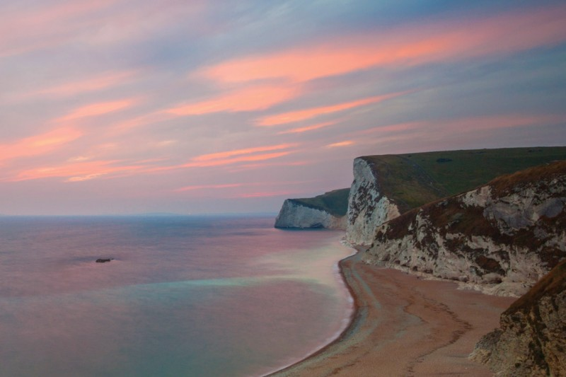 Cliffs in Dorset
