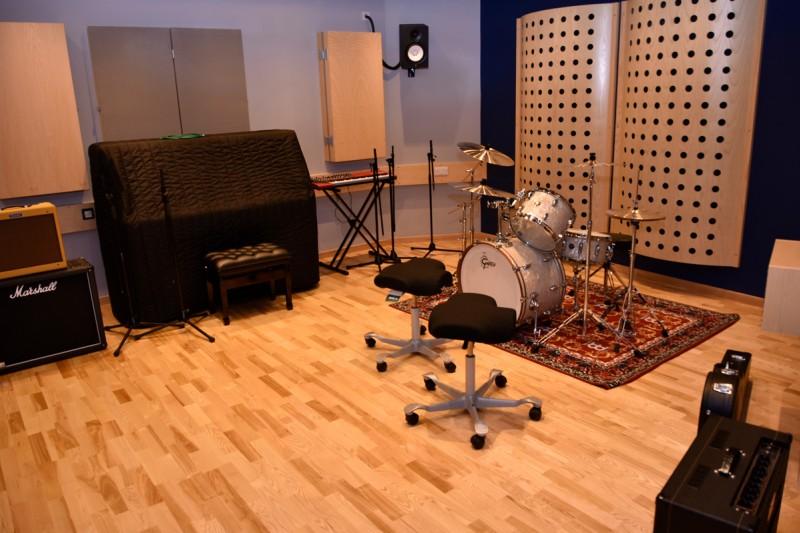 Poole Gateway Building music studio
