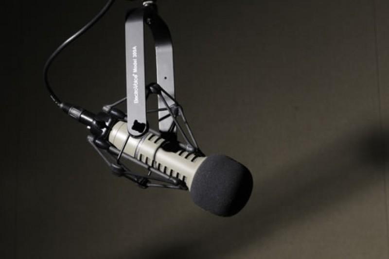 BU News podcast mic
