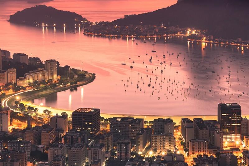 Rio de Janeiro at night