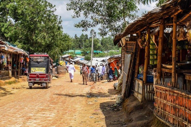 Rohingya market