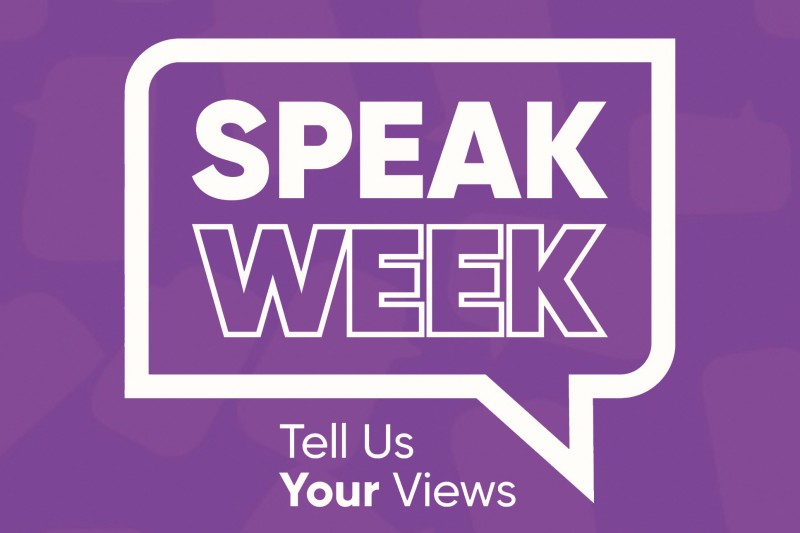 Speak Week: 30 November - 4 December 2020