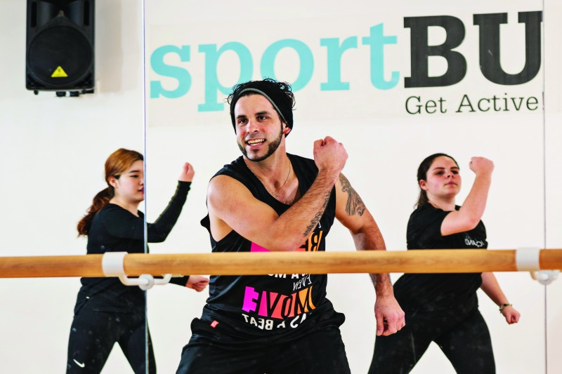SportBU fitness class