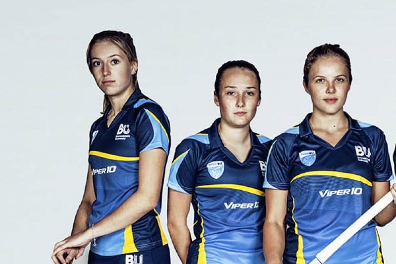 SportBU women's hockey team