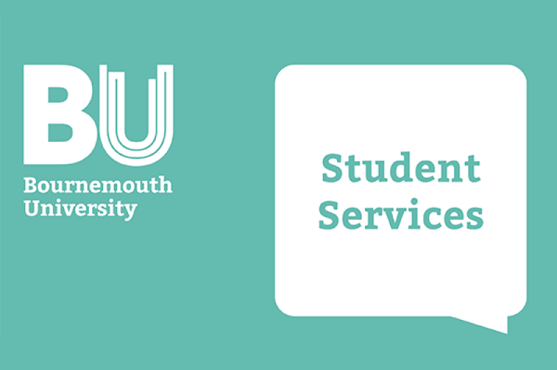 Student Services speech bubble logo