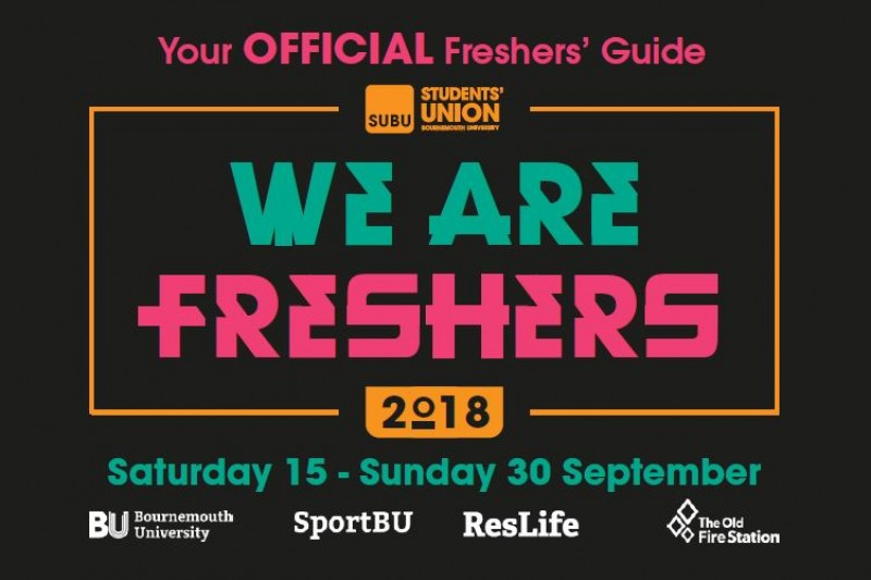 SUBU We Are Freshers Guide 2018