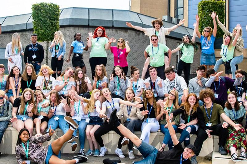 Summer Break 2019 students on Talbot Campus
