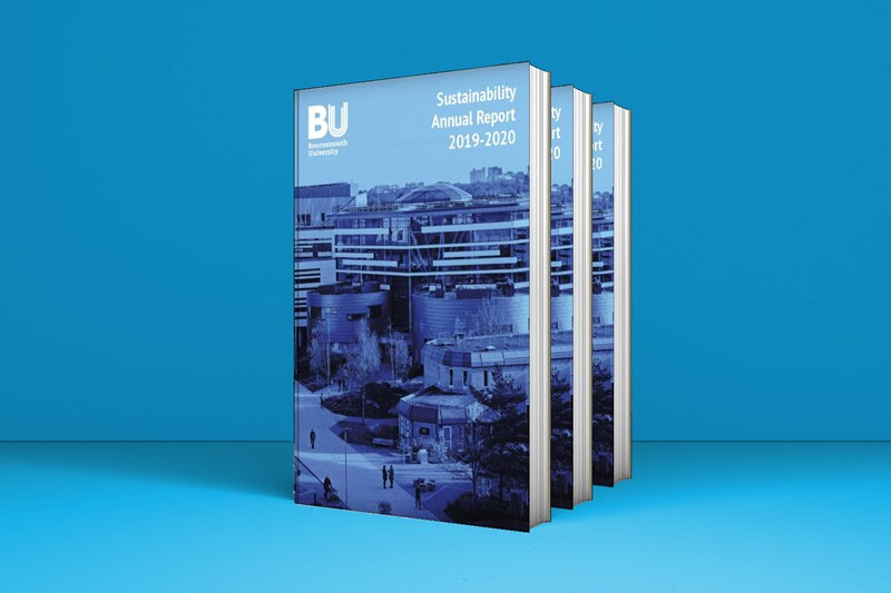 Sustainability Annual Report 2019 20 book cover