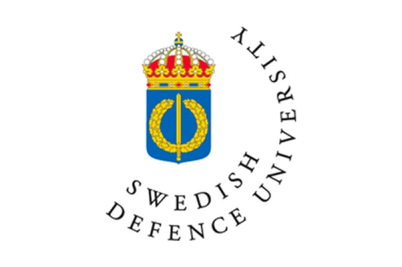 Swedish National Defence University logo