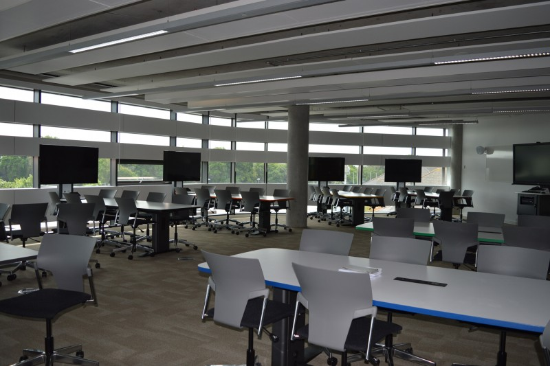 Synergy spaces in the Fusion Building