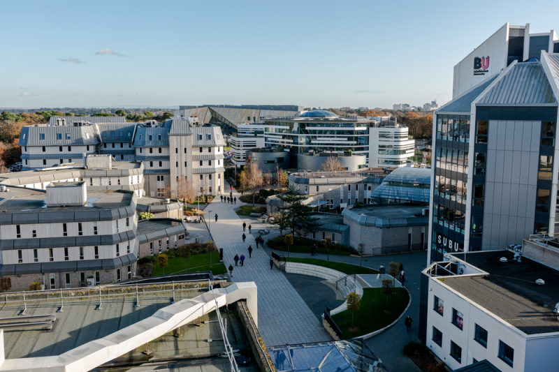 Talbot Campus is where you'll find facilities such as The Sir Michael Cobham Library, the Student Centre (where our Students' Union offices are based), the £22 million Fusion Building and the brand new Poole Gateway Building