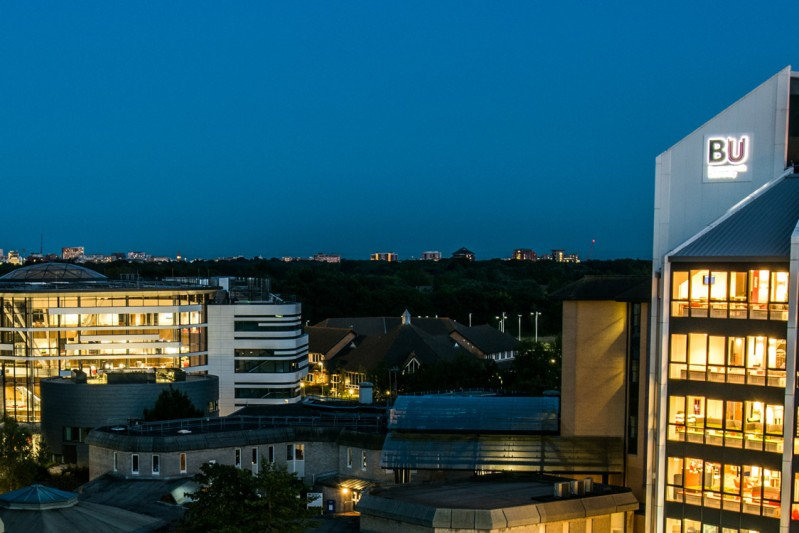 Talbot Campus at night