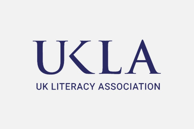 The UK Literacy Association logo, comprising the UKLA initialism followed by the Association name written in full
