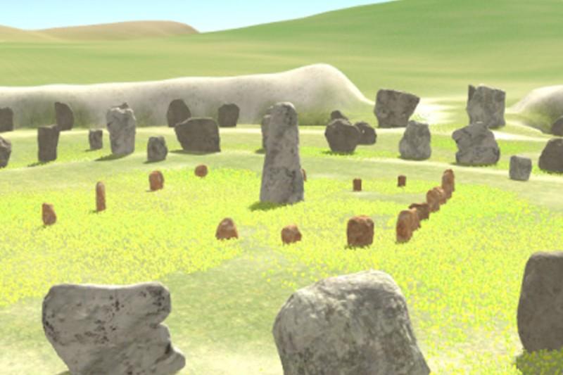 Virtual Avebury visualisation