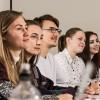 Undergraduate students in a seminar