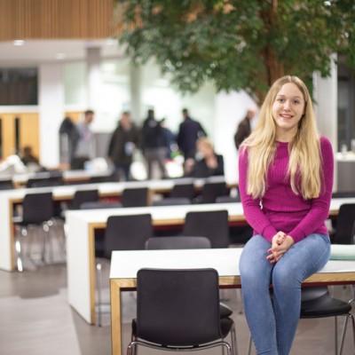 Gemma Griffin, BU graduate