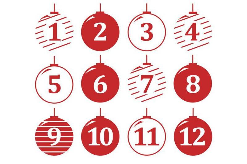 12 days of Christmas image