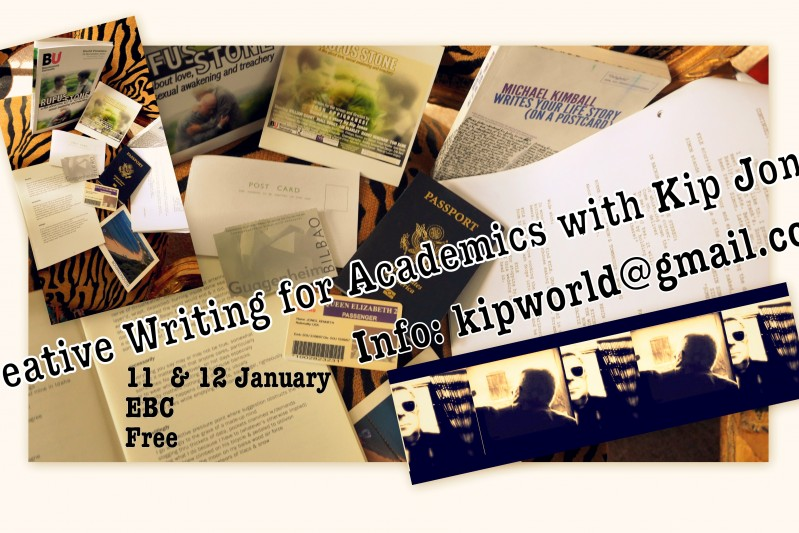 Creative writing for academics workshop