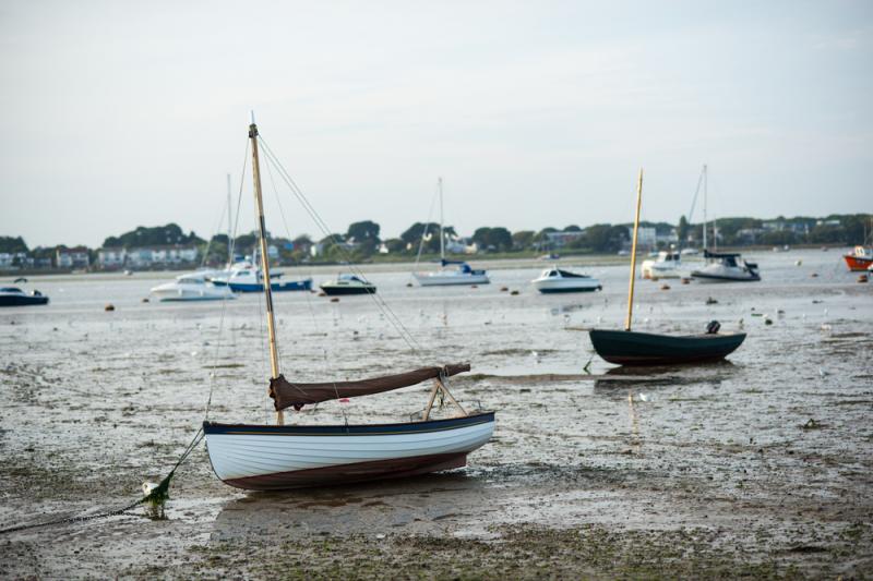 Mudeford boats