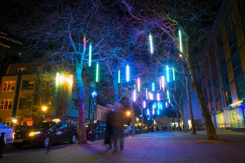 BU graduate making waves at Poole's Light Up festival
