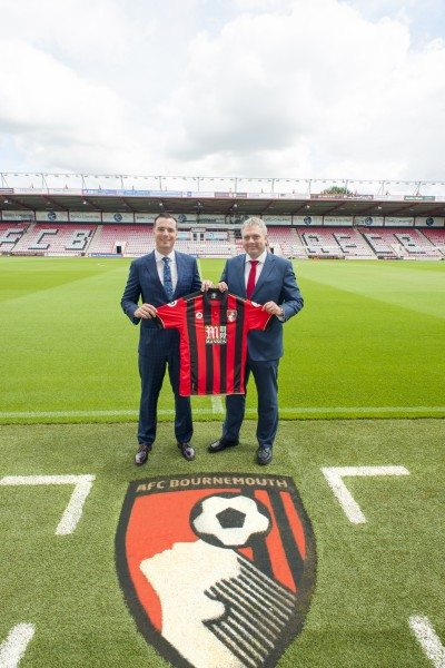 AFC Bournemouth and BU contract signing