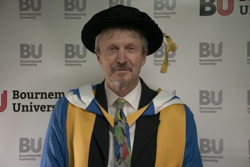 Alan James - Honorary Doctorate