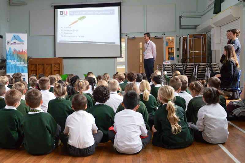 Pupils at Hill View Primary Academy