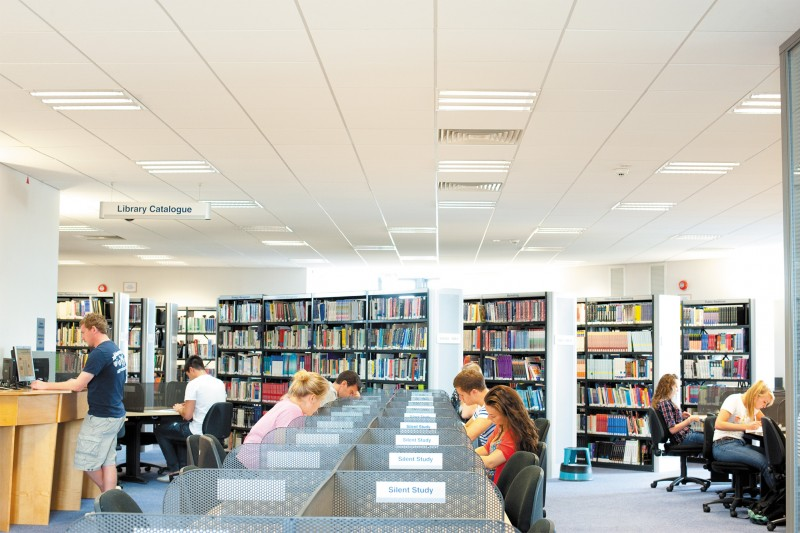 The Sir Michael Cobham library - silent study room
