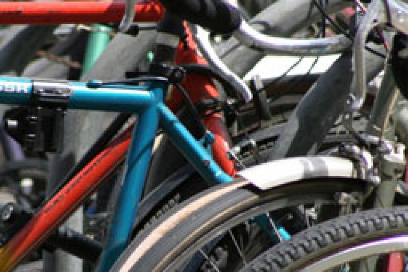 image of some bikes