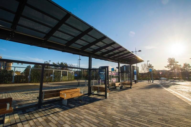 Talbot Campus bus hub