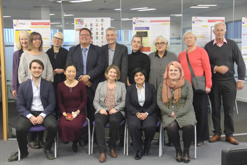 The CIPPM have received a prestigious award to set up a Jean Monnet Centre of Excellence at BU - Image (L – R): CIPPM Faculty