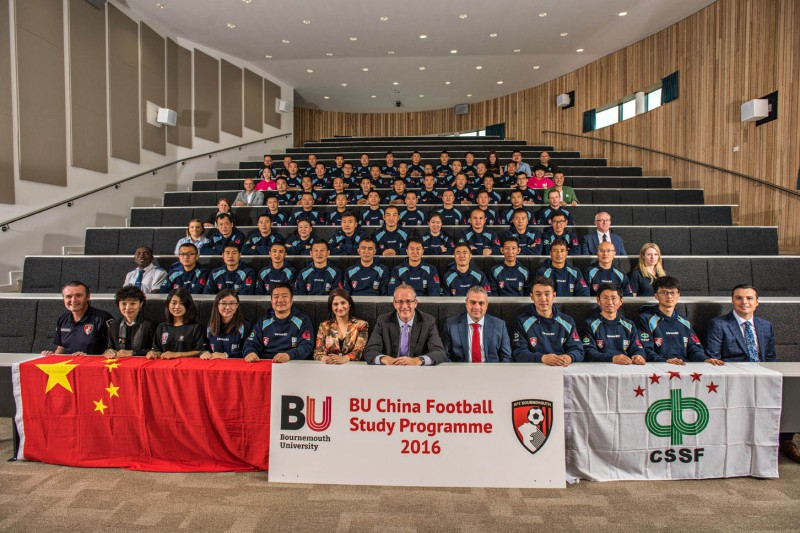 Chinese football coaches group shot 2