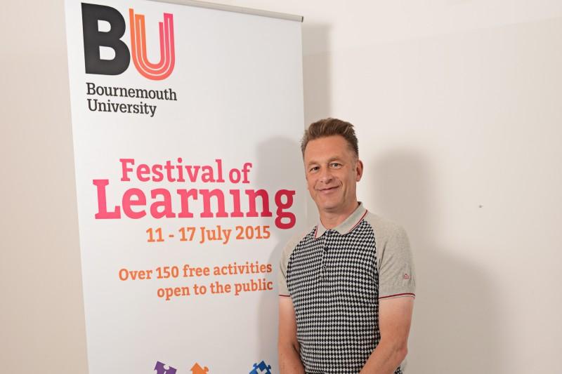Chris Packham at the Festival of Learning