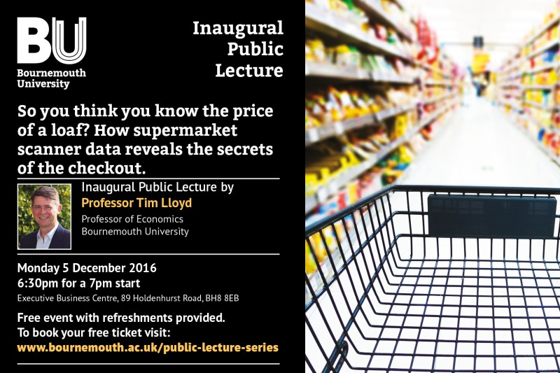 Tim Lloyd Inaugural Lecture flyer