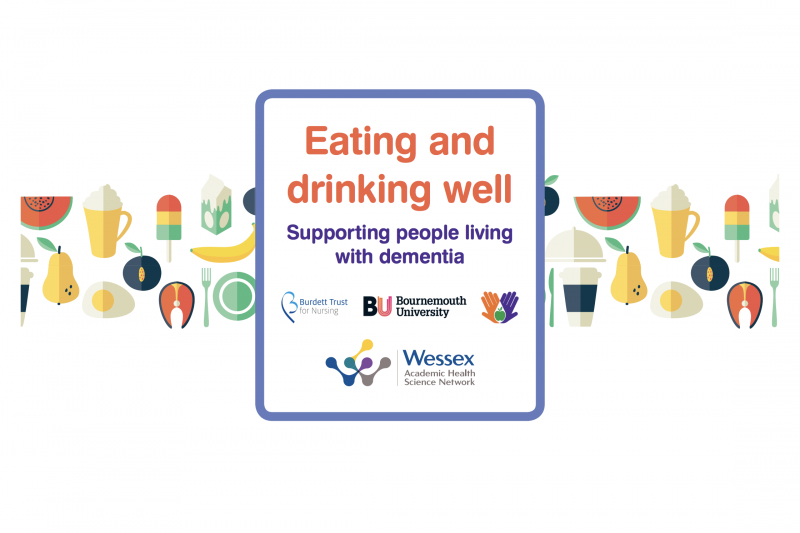 Eating and Drinking Well Nutritional leaflet cover