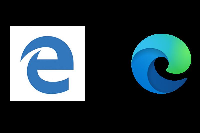 Microsoft Edge upgrade logo