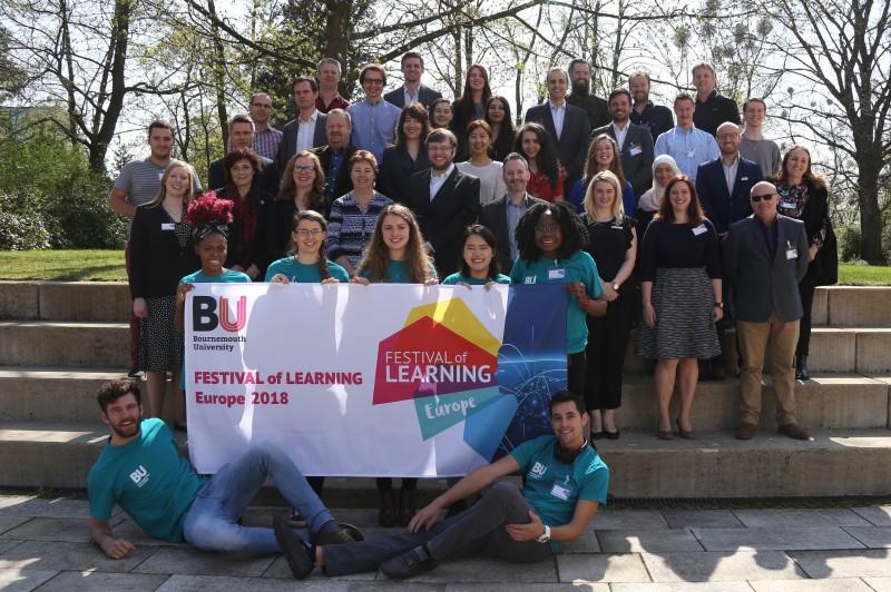 Europe festival delegation
